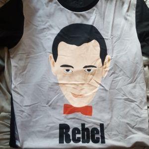 Peewee Herman redbubble t-shirt